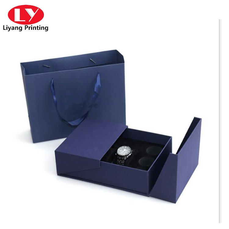 Watch Box With Insert