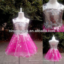 СЗ-421 очаровательная реальный образец платья девушки цветка
