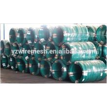 Fabricação de malha de arame galvanizado e revestido de PVC