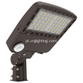 LED Area Shoebox Light 200W com fotocélula