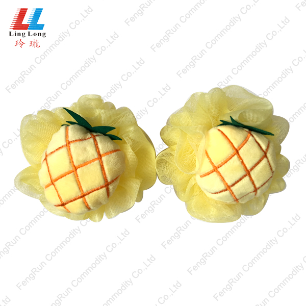 pineapple comely bath ball