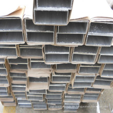 Kundengebundenes hohles quadratisches Aluminiumrohr