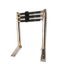Stainless steel ship boarding platform ladder