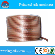 OEM Serive Transparente Trenzado Cobre puro Cable paralelo Cable flexible