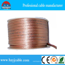 OEM Serive Transparent Stranded Pure Copper Parallel Cable Flexible Wire