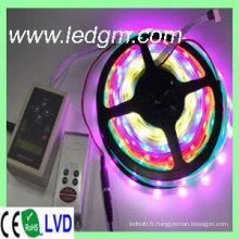 Bande de 5050 LED RVB Bande de LED magique 1909 IC
