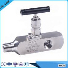 La valve de jauge d'angle de haute pression SS haute-vente et les collecteurs à deux soupapes en Chine