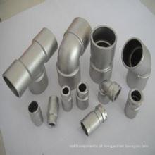 Adaptador de conector de fundição de precisão de aço inoxidável