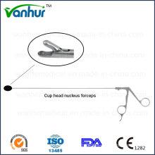 Lumbar Transforaminal Endoscopy Instruments Cup Head Nucelus Forceps
