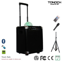 8 Inches Plastic Portable PA System Loudspeaker with Battery