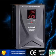 Chine Écran LED à affichage chaud Régulateur de tension 10000VA 6000W
