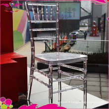 Wholesale cheap crystal plastic chiavari chair