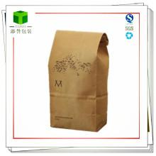 Sacs en papier Kraft pour l'emballage des aliments et du café