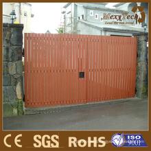 Leisure, Durable, Wooden WPC Fence Adapted in Villal Front Door
