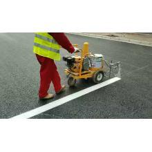 máquina de marcação de linha rodoviária com spray frio