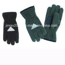 Fleece, Winter Warm Fashion Polar Fleece Outdoor Glove-Jg10W014