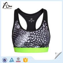 Gedruckt Gym Wear Breathable Sexy BH Unterwäsche