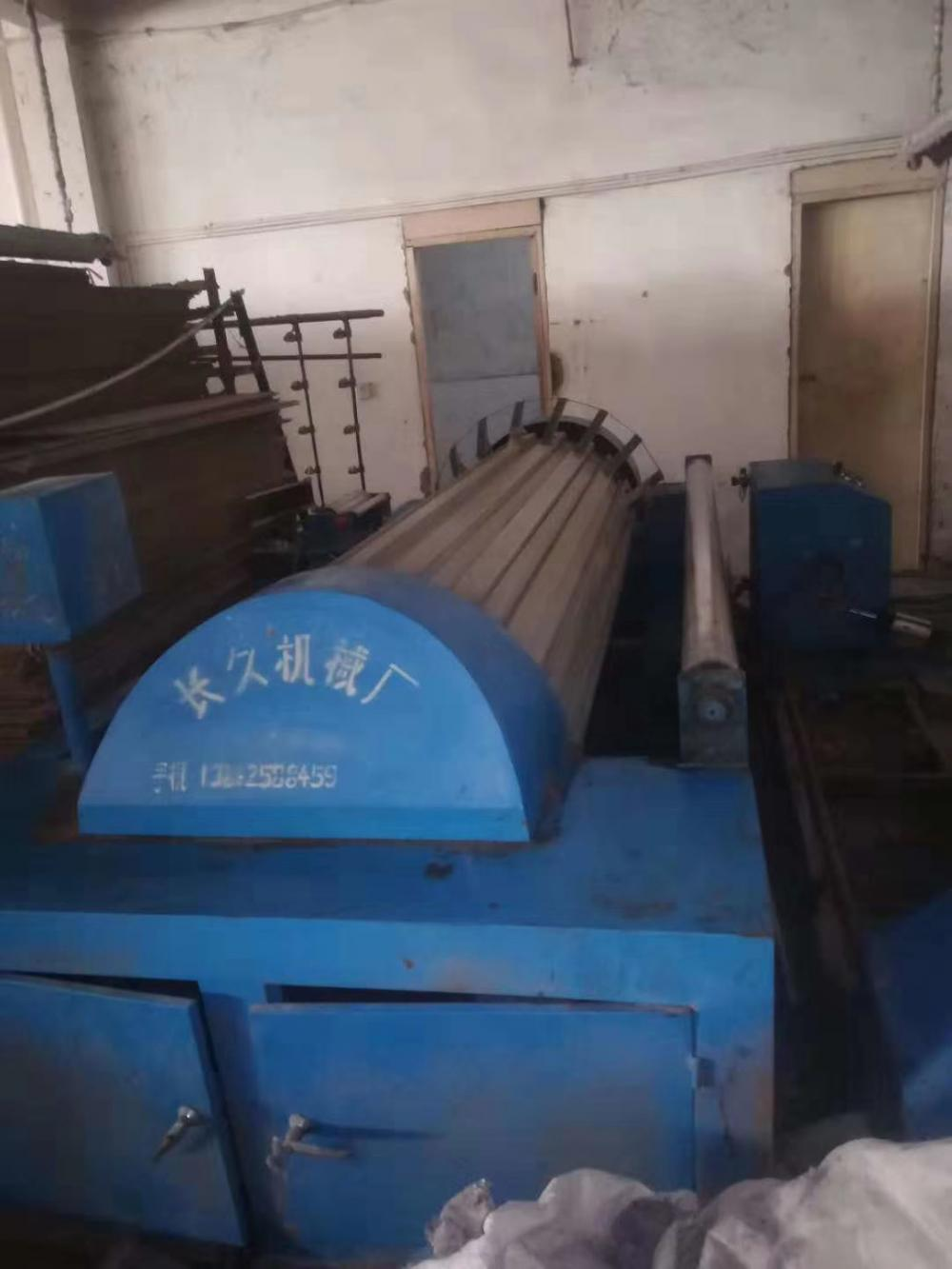 High-speed automatic slitting warping machine