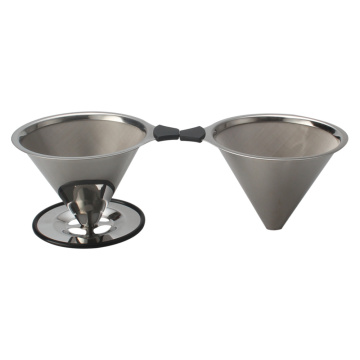 Titanium Coated Paperless Pour Over Kaffeetropfer