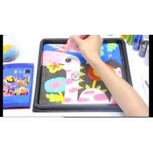 Натуральная детская DIY песок комплект ручной работы экологических творческих песок мечты тема живопись
