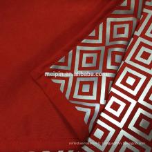 2016 nouveau design tissu réfléchissant pour veste