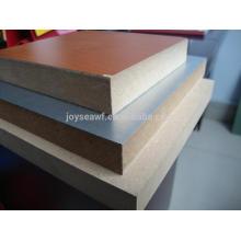 12mm 15mm melamine paper faced MDF board
