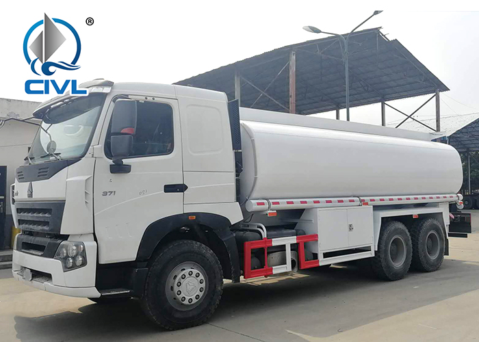 25tons Water Tank Truck With A7 Chassis 2