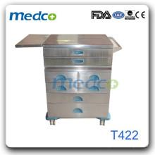 Trole médico de aço inoxidável quente T422