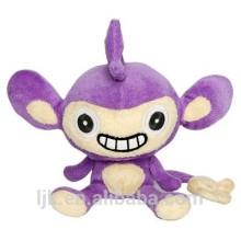 Maßgeschneiderte Design Plüsch weichen lila Affe Spielzeug