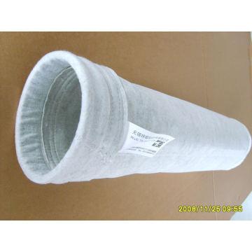 Bolso de filtro del colector de polvo del fieltro de la aguja de la venta caliente antiestática