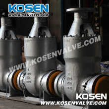 Válvulas de porta seladas de pressão de aço fundido