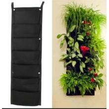 18 Pocket Indoor Outdoor Wall Hanging Planter Bags Plant Grow Bags