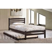 Cama simple simple de madera 3 ', muebles del dormitorio
