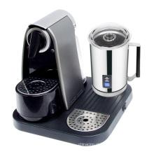 Máquina automática de café cápsula com p / leite