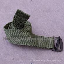 Grüner Nylon Bdu Gurtband (HY-WB002)