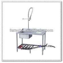 K146 Dish Clearing Tischplatte Geschirrspüler Edelstahl Geschirrspüler Tabelle