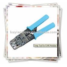 Outil à sertir pour RJ45 Modular Plug 6C et 8C Type de cliquet
