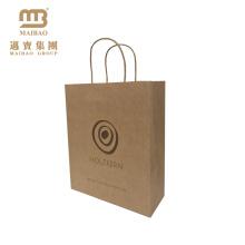 FSC Paperbags de empacotamento recicl de varejo personalizado habilitado do presente de Kraft / saco de papel Craft Brown