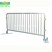 Galvanized Temporary Crowd Control Traffic Barrier Untuk Penjualan