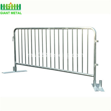 Galvanized Temporary Crowd Control Traffic Barrier For Sales