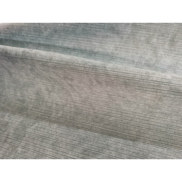 2020 New Chenille Curtain Fabric with Vertical Stripes