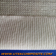 Unidireccional Combo tejido respaldado velo de mascotas de fibra de vidrio para pultrusión