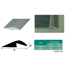 PVC Vinyl Flooring Capping Plastic Edging Trim, Floor Transition Strips