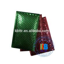 Aluminium personnalisé couleur plastique poly plastique mailer bulle