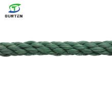 Dark Green PE/Nylon/Polyethylene/Synthetic/Plastic/Fishing/Marine/Mooring/Packing/Twist/Twisted Cord