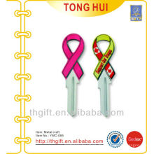 Metal Ribbon & Key Form Ornament Handwerk