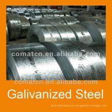 Bobina de acero del Galvalume de China para la construcción de edificios
