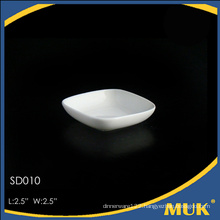 2016 hot sale hotel use fine round crockery plate
