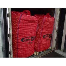 Cebola Jumbo sacos com malha ventilada