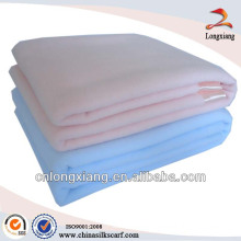 100% cotton solid hospital blankets